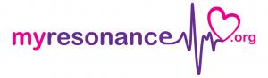myresonance logo pink purple