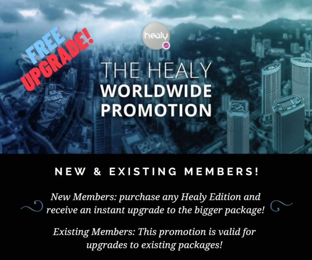 Healy Worldwide Promotion 23rd August 2020