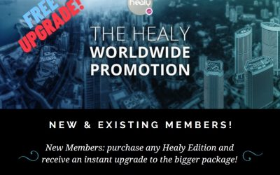 The Healy Worldwide Promotion Starting 23rd August 2020