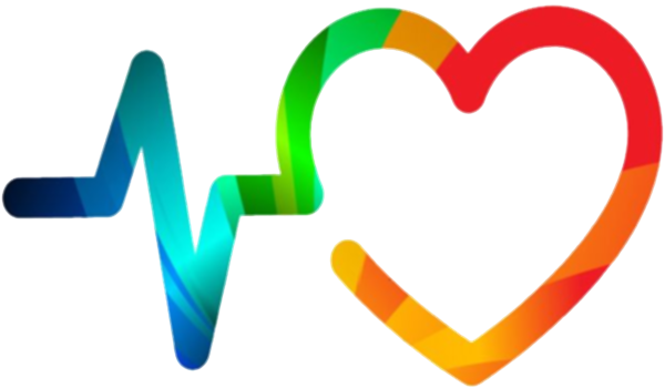About Us Header Image of heart plus frequency