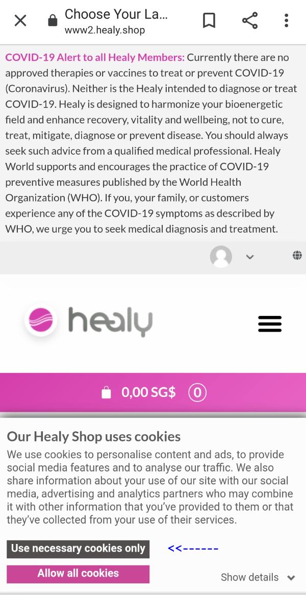 Healy Login Shop2